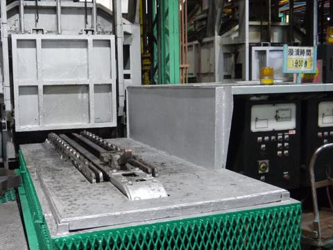 共立のバッチ型調質炉