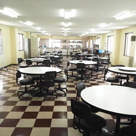 共立の食堂・事務所