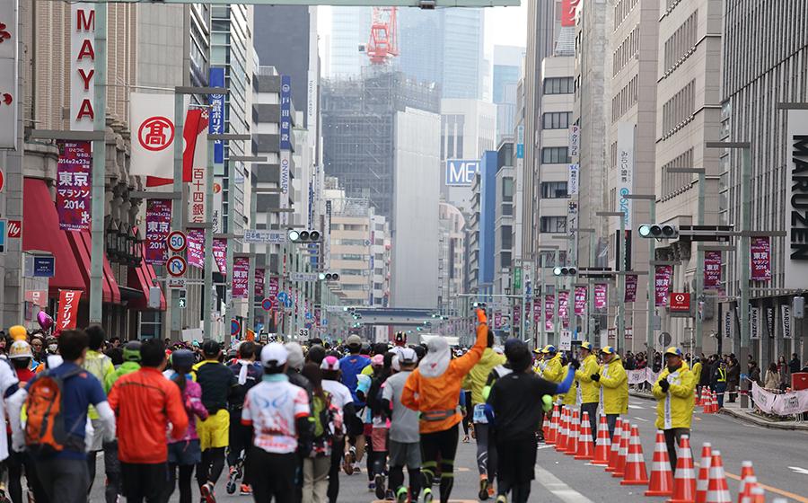 第1回東京マラソン開催