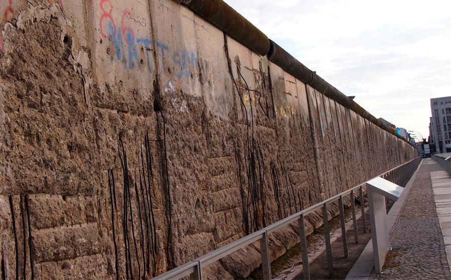 ベルリンの壁が撤去
