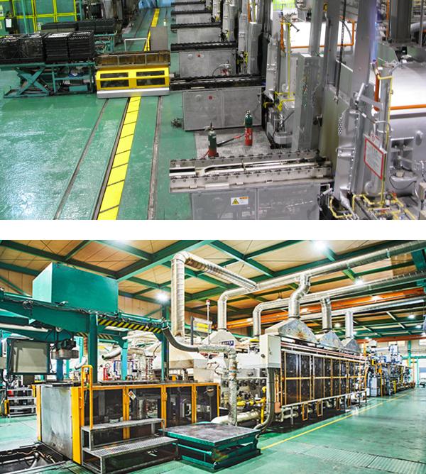 共立の工場